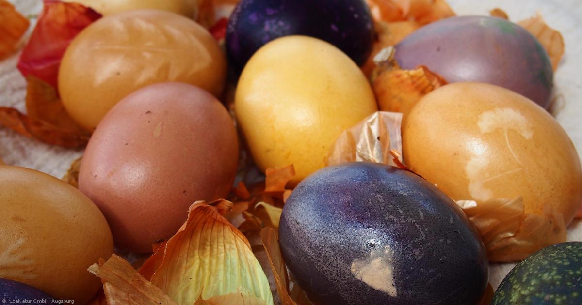 Ostereier: Bio-Eier brauchen natürliche Farben (1)