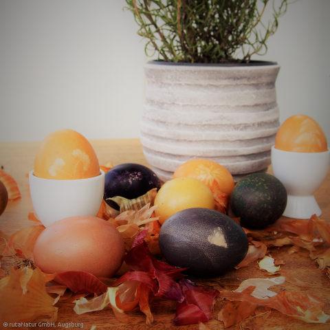 Ostereier: Bio-Eier brauchen natürliche Farben (2)