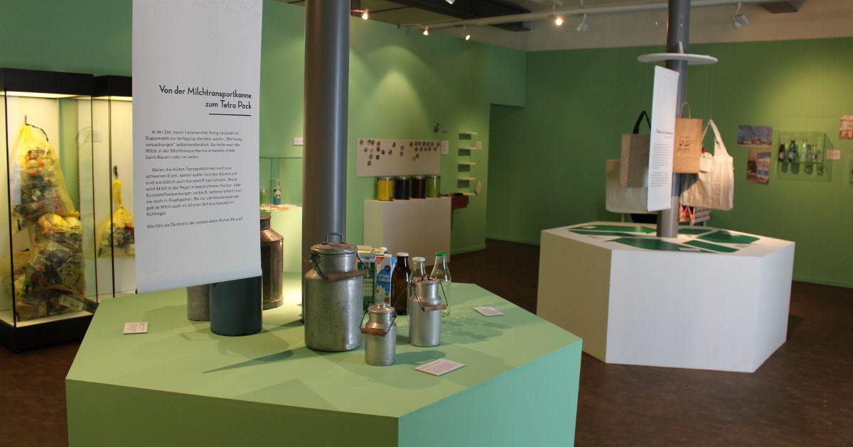 rutaNatur schon jetzt im Museum - Sonderausstellung in Oberschönenfeld - Blick in Raum 3