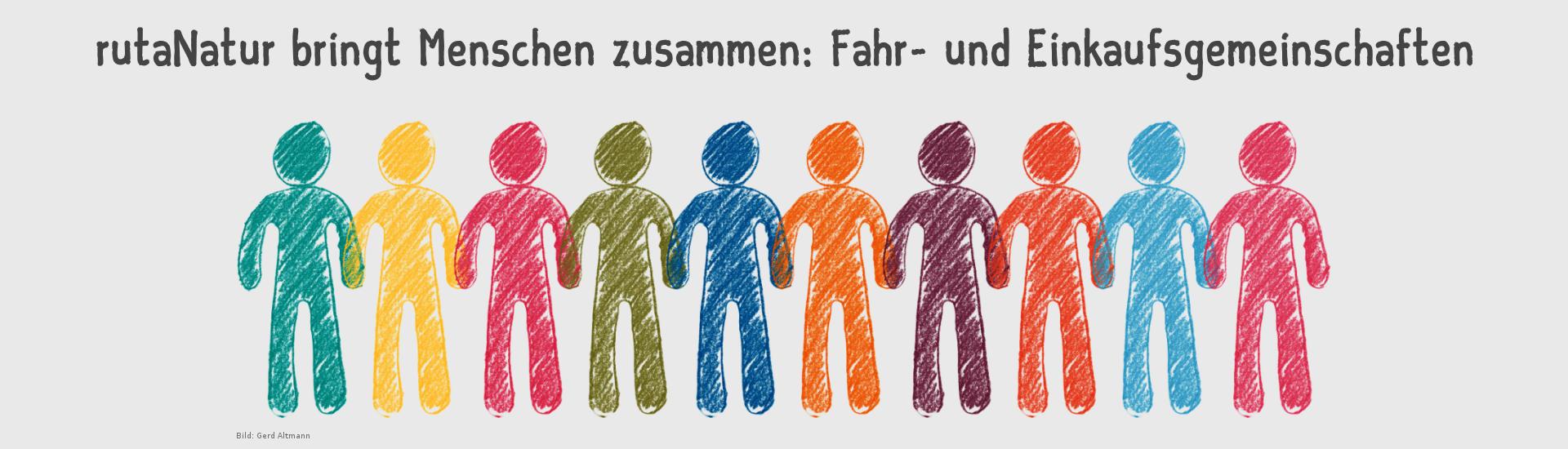 """Banner """"Crowd"""" - Bild: Gerd Altmann"""