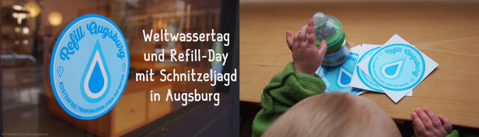 Refill-Banner - Weltwassertag