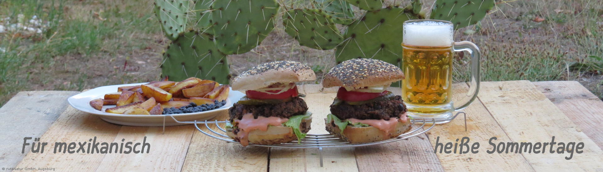 Rezept: Veganer Black Bean Burger