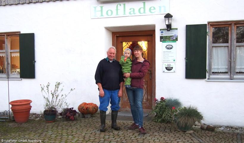 Besuch auf dem Pfänder-Hof in Schwabmünchen - Hofladen