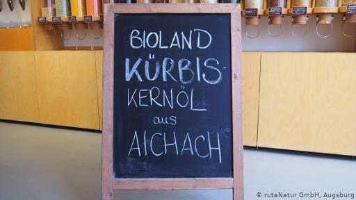 Bioland-Kürbiskernöl aus Aichach