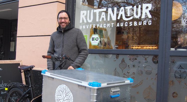 Lastenrad-Promo mit Schorsch